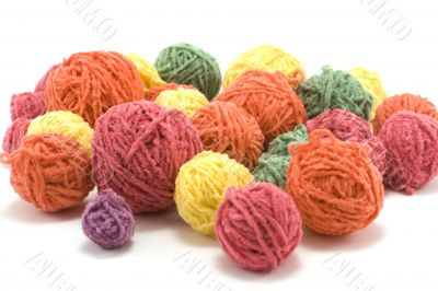 Ball of the colour threads 3