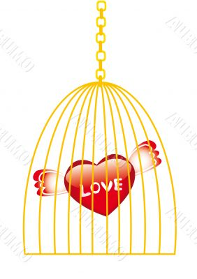Love in golden cage