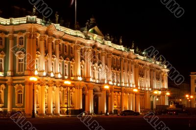 State Hermitage Museum (Winter Palace) - famous Russian landmark