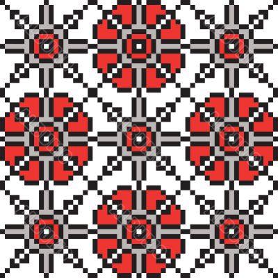 Traditional Belarus ornament