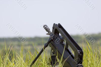Gun on the hill