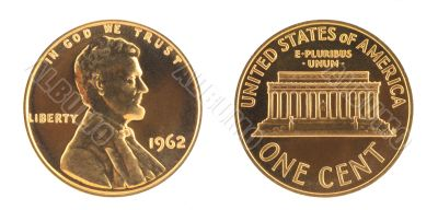 USA One Cent