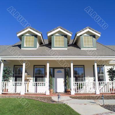 Family Home. Beautiful exterior