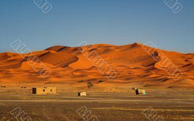 edge of the Sahara Desert