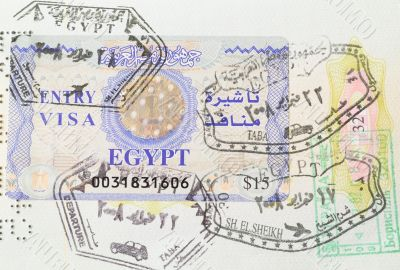Jews with Arabs live harmoniously in the passport
