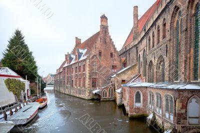 St John`s Hospital, Bruges, Belgium