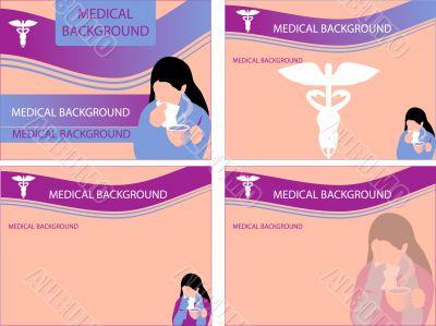 4 Medical backgrounds, cold & cough, illness, Preventive mainten