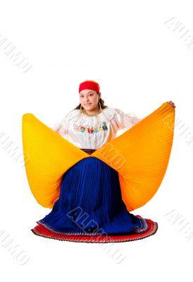 Latin Gypsy woman