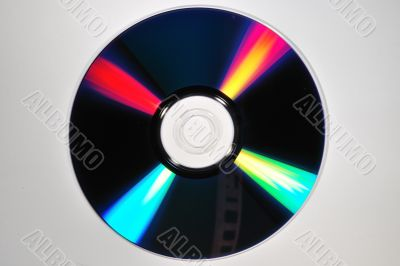 compact disc reflection