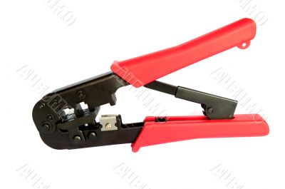Crimping tool for cord