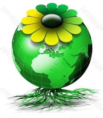 World bio flower
