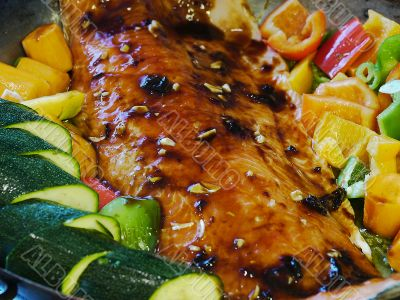 Salmon with Marinade