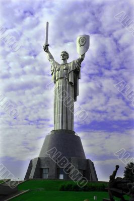 Monument to the native land-mother