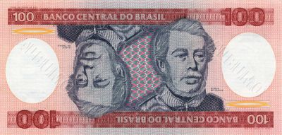 100 Cruzeiro banknote