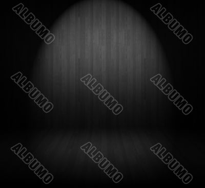 Creative wooden background. Inside a room