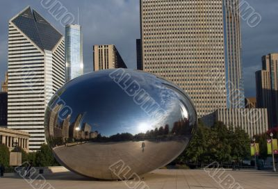 Cloud Gate  in Chicago, Illinois