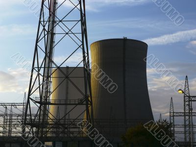 Nuclear Plant Philippsburg