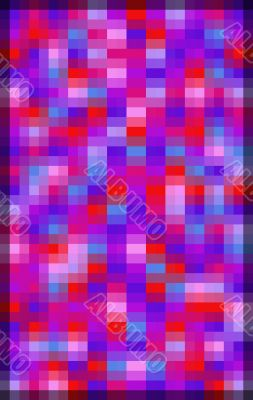 Vivid Double Pixel Background