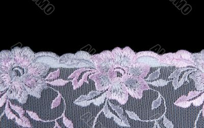 Rose lace with pattern