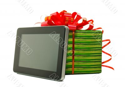 Electronic book reader with present box