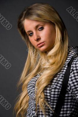 Long-haired girl