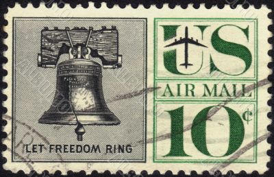 Stamp Let Freedom Ring 10 c