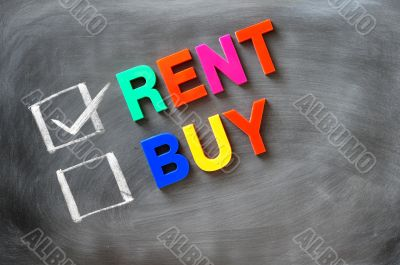 Rent and buy check boxes