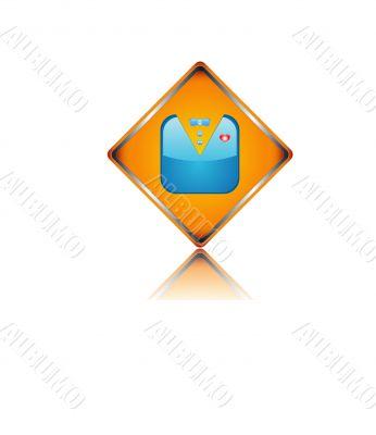 Unique abstract icon