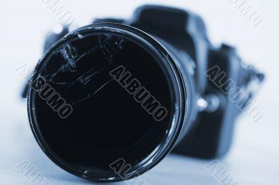 Camera - Damaged Lens - Technology