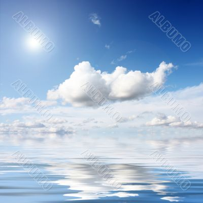 sunshine than clouds