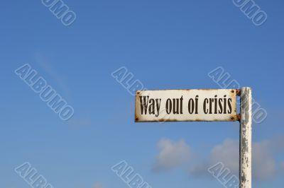 Ausweg aus der Krise