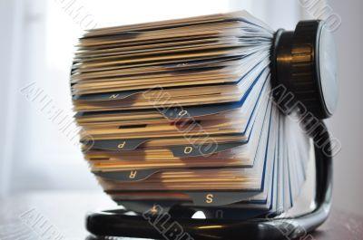 Business card holder general