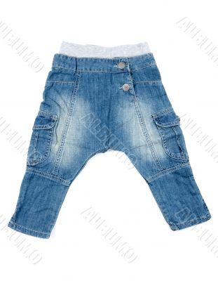 Children`s pants jeans