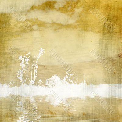 Delicate vintage background