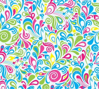 Decorative colorful musical background