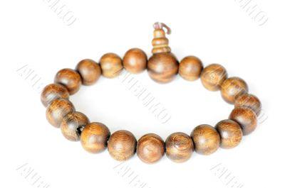 Wooden buddhist beads