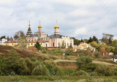 Orthodox monastery in Ryazan region