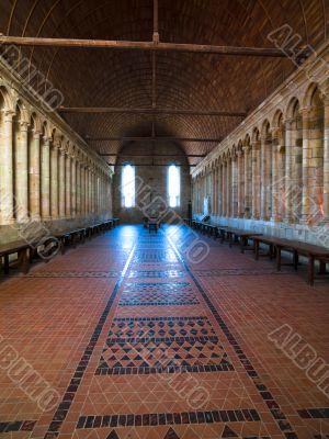 Inside Mont St Michels