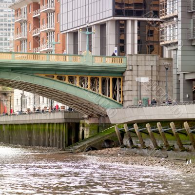 bridge over water in london