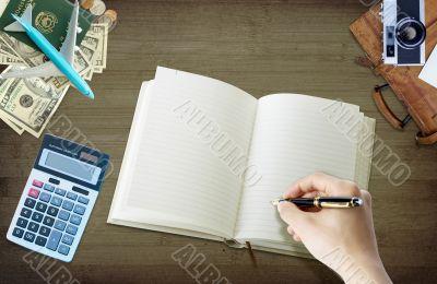 budgeting a travel plan