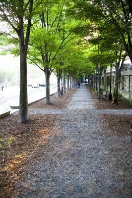 outdoor walkway