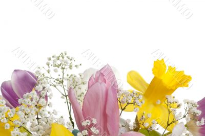 cropped image of a flower bouquet