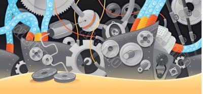 Various types of mechanisms.