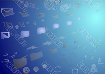 Satellite data, information flow