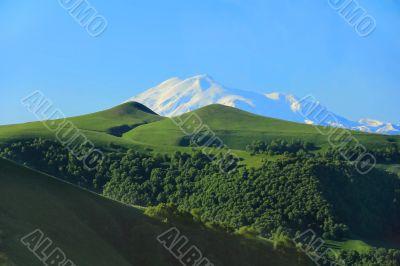 Highest top of Europe Elbrus