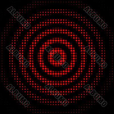 Abstract dots circles