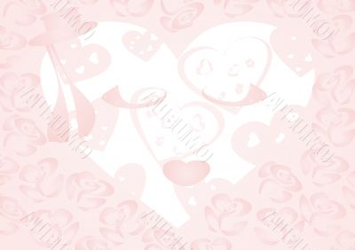 Valentine's Day. Gift Packaging. Hearts. Love and tenderness.
