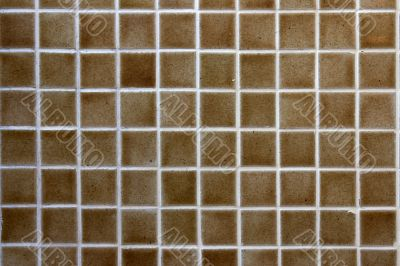 Bathroom wall tiles.