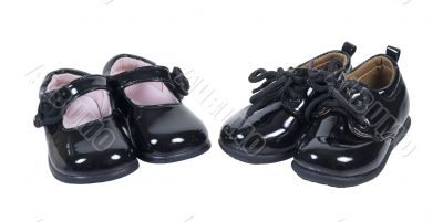 Shiny Formal Baby Shoes for Boys and Girls