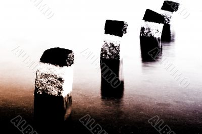 Limitation stone abstract